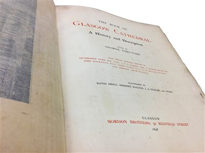 Lot 1587-THE BOOK OF GLASGOW CATHEDRAL, EDITED BY G. EYRE-TODD