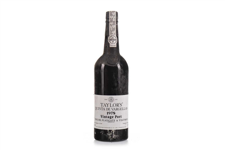 Lot 1008-TAYLOR'S 1978 QUINTA DE VARGELLAS
