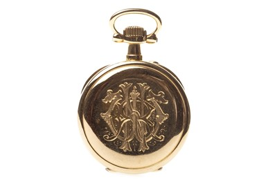 Lot 766-A LADY'S GOLD GOLD FOB WATCH