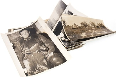 Lot 1615-A COLLECTION OF WWII PHOTOGRAPHS