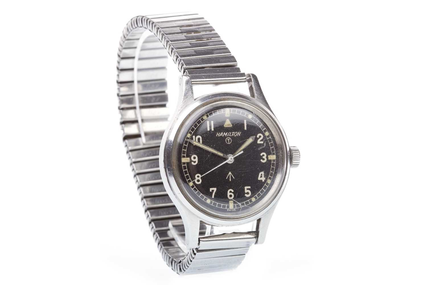 Lot 756-A GENTLEMAN'S HAMILTON MILITARY ISSUE WATCH