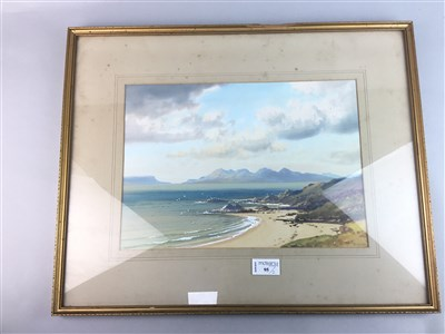 Lot 95 - A WATERCOLOUR BY TREVOR AND ANOTHER PICTURE