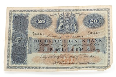 Lot 503-TWO 1950S BANKNOTES