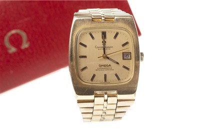 Lot 773-A GENTLEMAN'S OMEGA CONSTELLATION AUTOMATIC WATCH