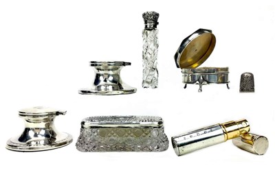 Lot 867 - A COLLECTION OF SILVER