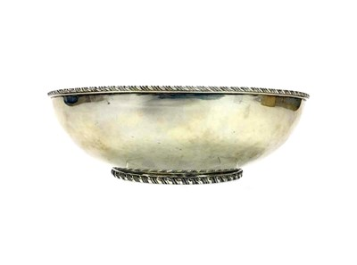 Lot 869 - A MEXICAN SILVER BOWL