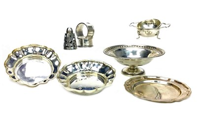 Lot 873-A COLLECTION OF SILVER ITEMS