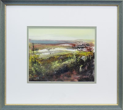 Lot 693 - WILD GORSE, A MIXED MEDIA BY MAY BYRNE