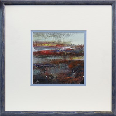 Lot 692 - AUTUMN IN THE AIR, A MIXED MEDIA BY MAY BYRNE