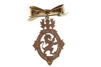 Lot 1837-RANGERS F.C. INTEREST - SCOTTISH FOOTBALL ASSOCIATION SCOTTISH CUP GOLD MEDAL 1948