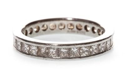 Lot 48-A DIAMOND ETERNITY RING