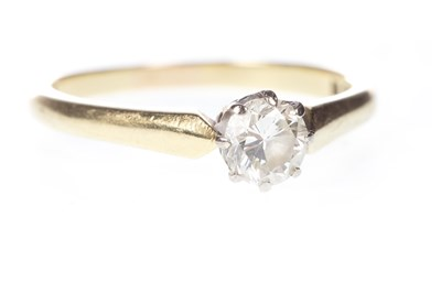 Lot 56-A DIAMOND SOLITAIRE RING