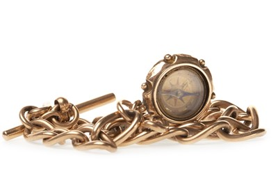 Lot 780-A CURB LINK WATCH CHAIN