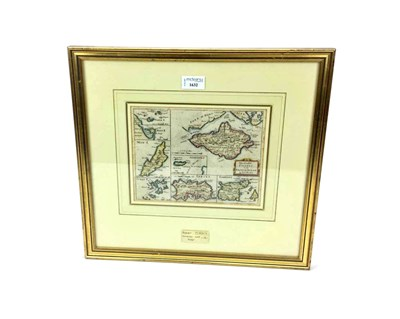 Lot 51-A MAP OF THE CHANNEL ISLANDS, BY ROBERT MORDEN