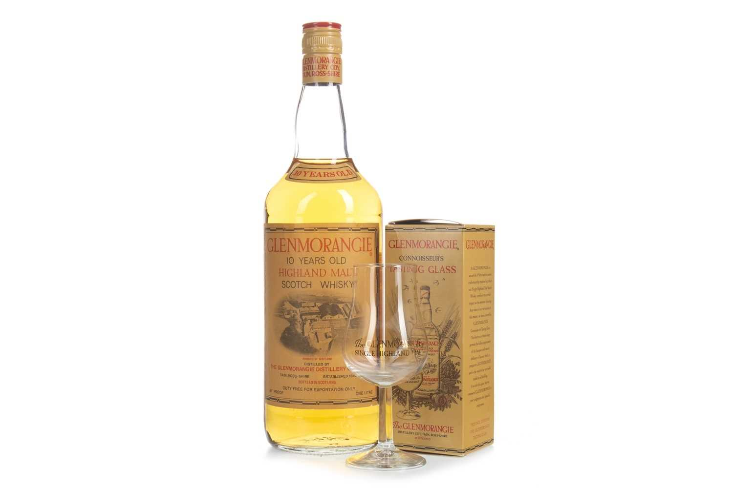Lot 301-ONE LITRE OF GLENMORANGIE 10 YEARS OLD