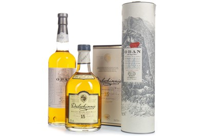 Lot 302-OBAN 14 YEARS OLD & DALWHINNIE 15 YEARS OLD