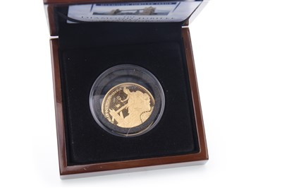 Lot 509-A GOLD DOUBLE SOVEREIGN