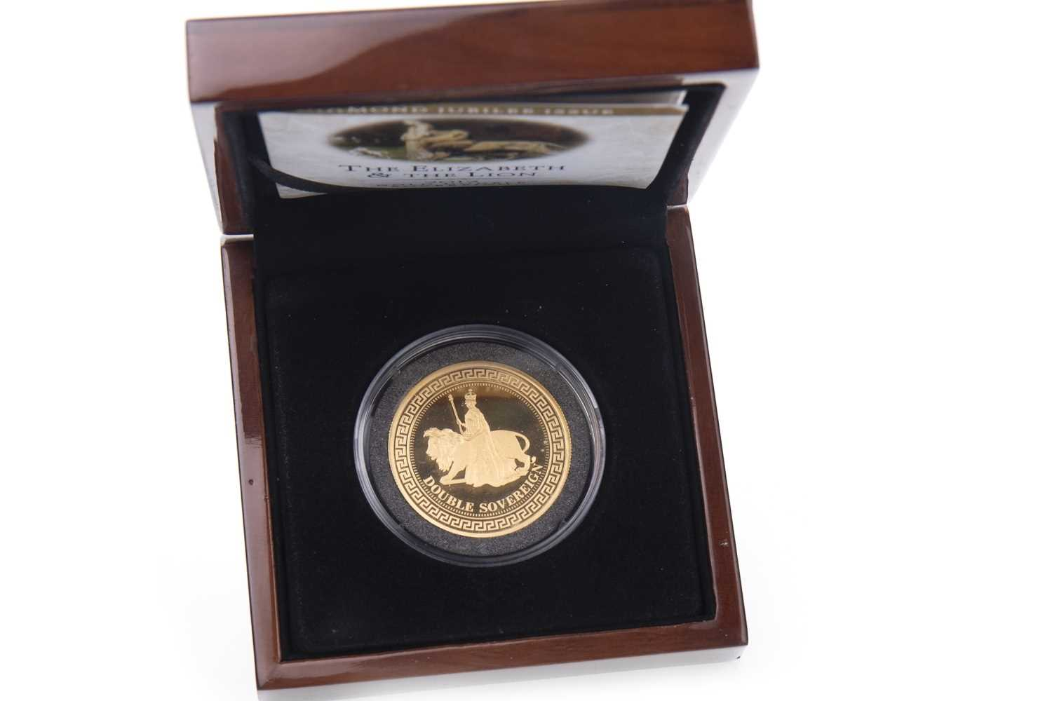 Lot 510-A GOLD DOUBLE SOVEREIGN