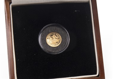 Lot 513-A BATTLE OF BRITAIN GOLD COIN