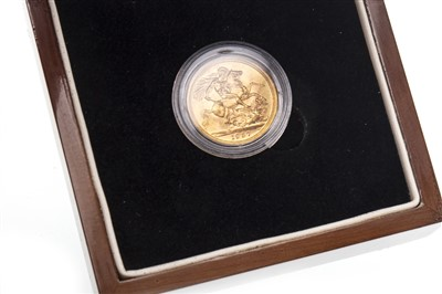 Lot 516-A GOLD SOVEREIGN, 1957