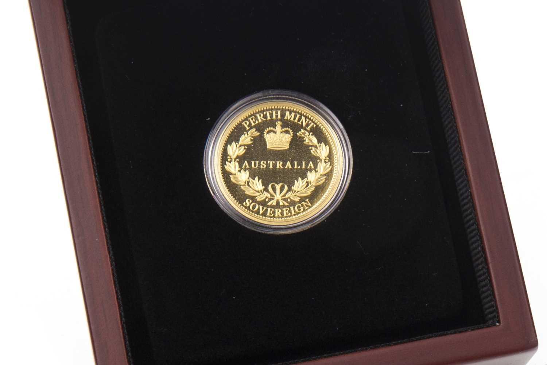 Lot 517-A PERTH MINT GOLD SOVEREIGN