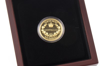 Lot 517-A PERTH MINT GOLD SOVEREIGN