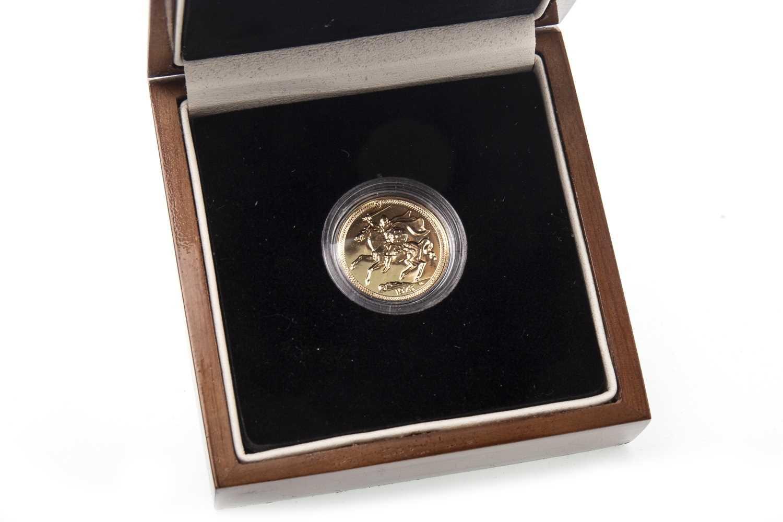 Lot 518-A 1973 MANX GOLD SOVEREIGN