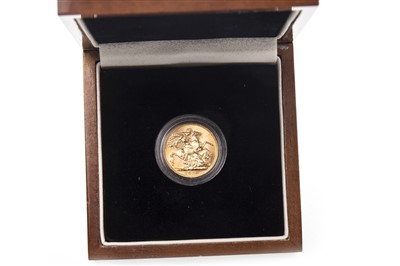 Lot 522-A GOLD SOVEREIGN, 1925