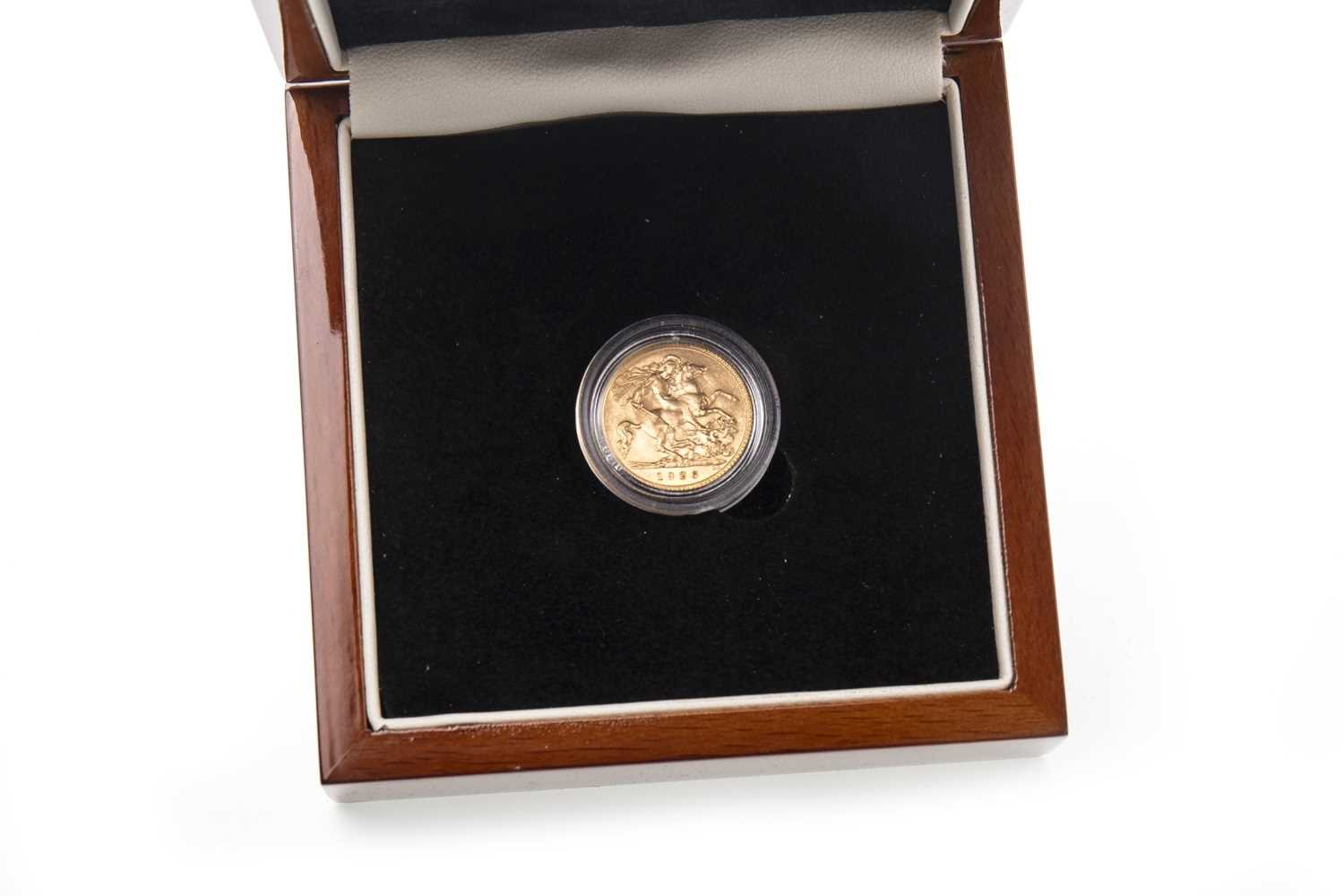 Lot 523-A GOLD HALF SOVEREIGN, 1926