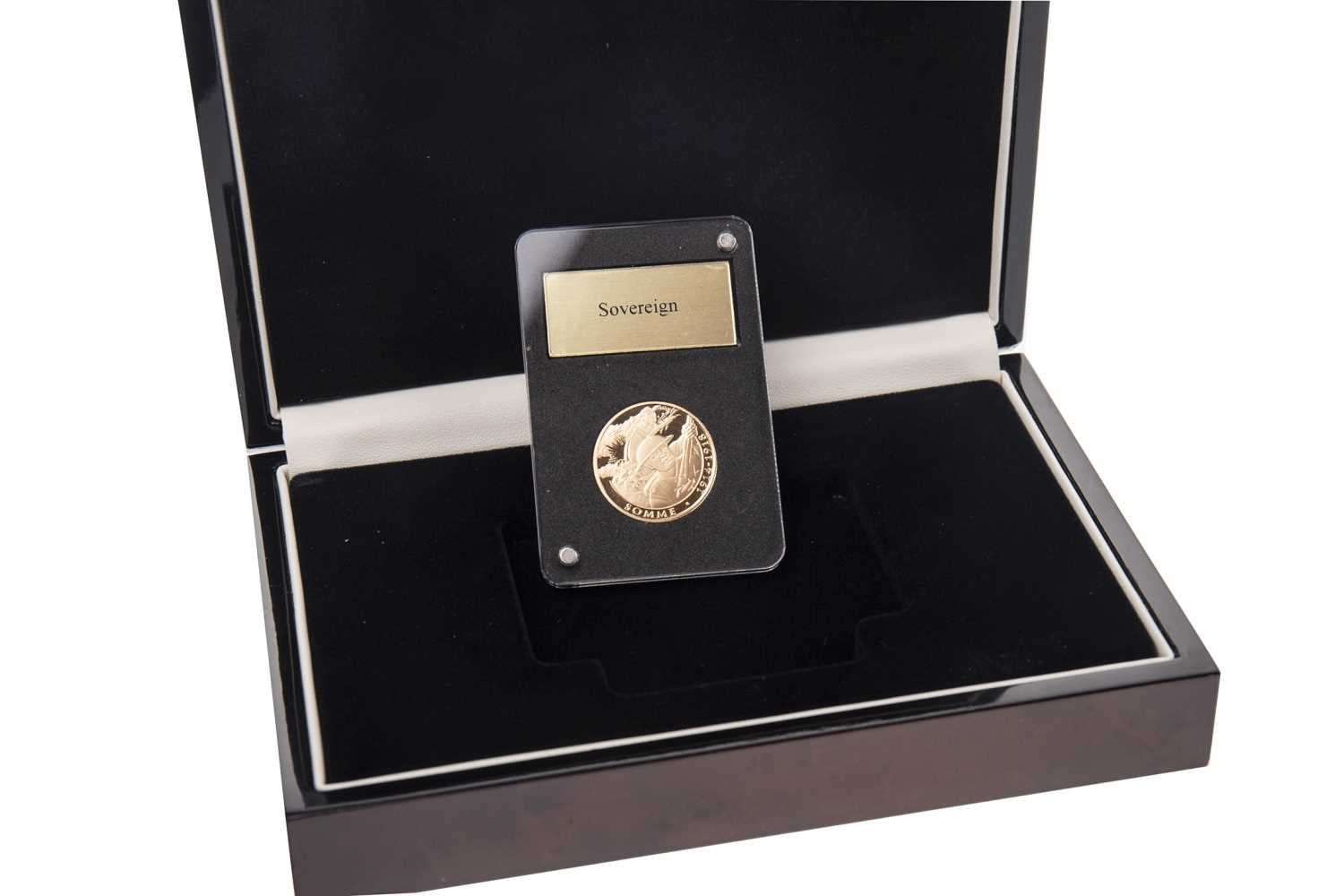 Lot 524-A COMMEMORATIVE GOLD SOVEREIGN