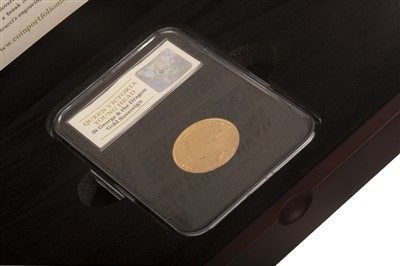Lot 525-A GOLD SOVEREIGN, 1874