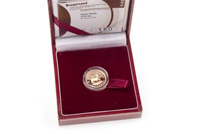 Lot 530-A GOLD 1/10 KRUGERRAND COIN
