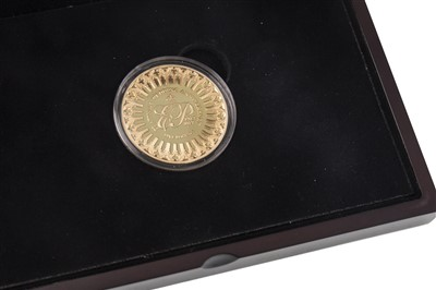 Lot 531-A CPM GOLD £5 COIN