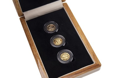 Lot 535-THE LONDON MINT OFFICE GOLD COIN SET