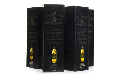 Lot 404-SIX BOTTLES OF ANTIQUARY 12 YEARS OLD