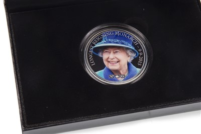 Lot 538-THREE SILVER PROOF COINS