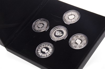 Lot 539-A SILVER COIN COLLECTION
