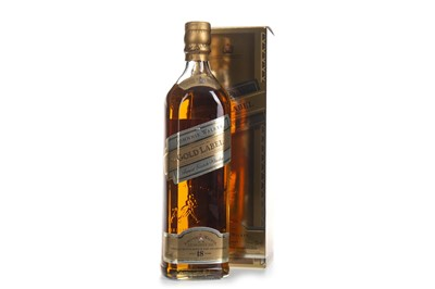 Lot 406-JOHNNIE WALKER GOLD LABEL AGED 18 YEARS