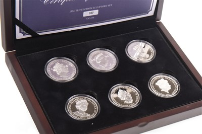 Lot 540-A SILVER COIN COLLECTION
