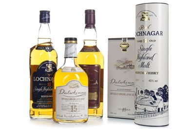 Lot 311-DALWHINNIE 15 YEARS OLD, ROYAL LOCHNAGAR 12 YEARS OLD AND ROYAL BRACKLA