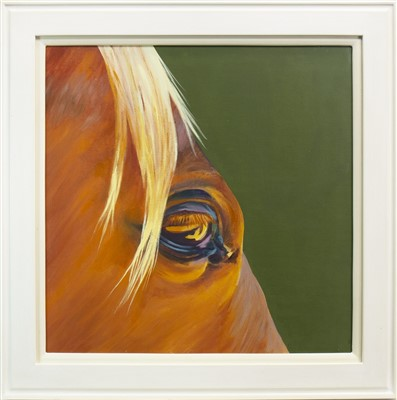 Lot 525-EVENING EYE, AN OIL