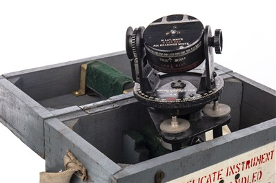 Lot 1387-A BOXED WWII ASTRO COMPASS MKII