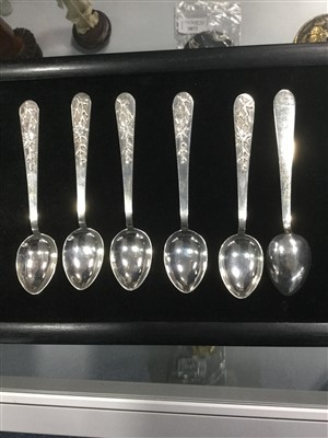 Lot 1110-A LOT OF CHINESE AND MALAYSIAN SILVER SPOONS