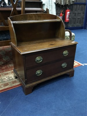 Pleasing Lot 342 A Mahogany Dwarf Two Drawer Chest An Ocoug Best Dining Table And Chair Ideas Images Ocougorg