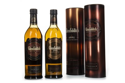 Lot 325-GLENFIDDICH 1984 AND 1991