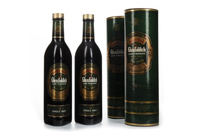 Lot 327-TWO LITRES OF GLENFIDDICH 15 YEARS OLD CASK STRENTH