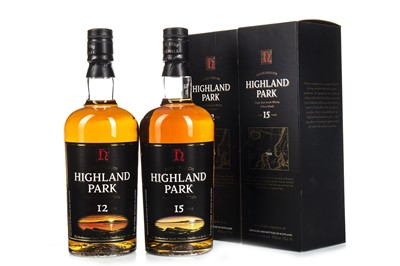 Lot 328-HIGHLAND PARK 15 AND 12 YEARS OLD