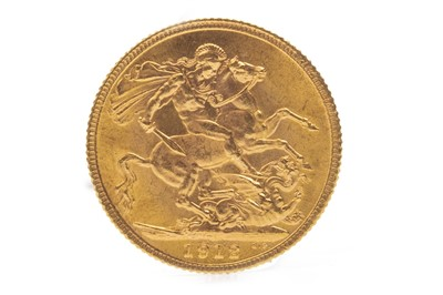Lot 545-A GOLD SOVEREIGN, 1912