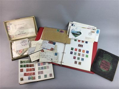 Lot 21-A COLLECTION OF BRITISH AND WORLD STAMPS