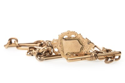 Lot 765-A GOLD WATCH CHAIN